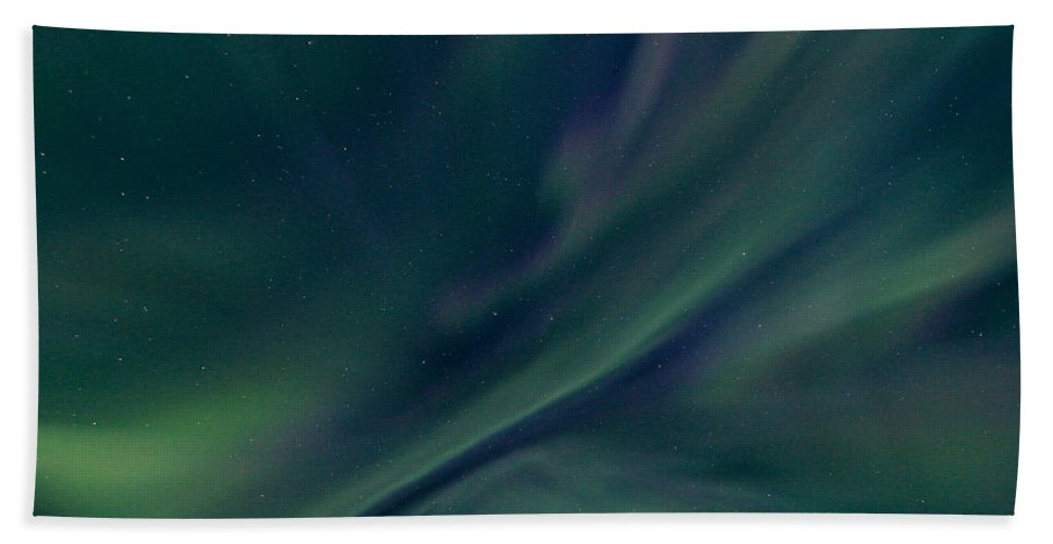 Alaska Bath Sheet featuring the photograph Alaska Aurora by Dawn Stepp
