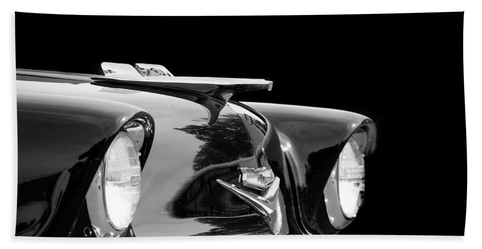 Chevrolet Hand Towel featuring the photograph All Black by Pauline Darrow