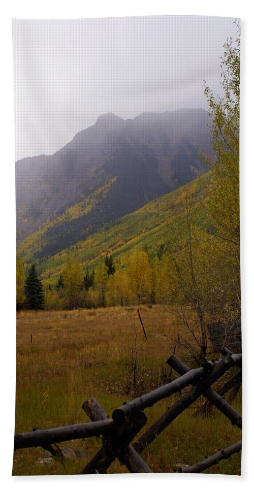 Colorado Bath Sheet featuring the photograph Along The Alpine Loop by Marty Koch
