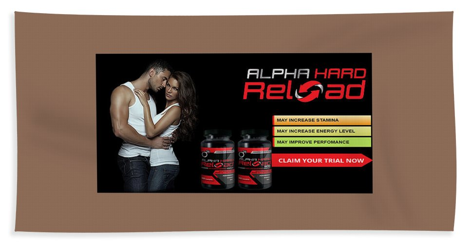 Alpha Hard Reload Hand Towel featuring the ceramic art Alpha Hard Reload by Weeks Weeks