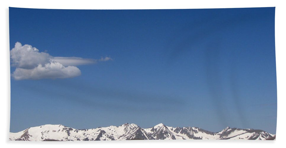 Mountains Bath Towel featuring the photograph Alpine Tundra Series by Amanda Barcon
