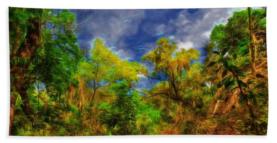 Landscape Bath Sheet featuring the photograph Altered State by John M Bailey