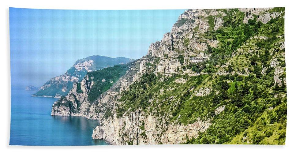 Isle Of Capri Hand Towel featuring the photograph Amalfi Splendor by Lisa Kilby