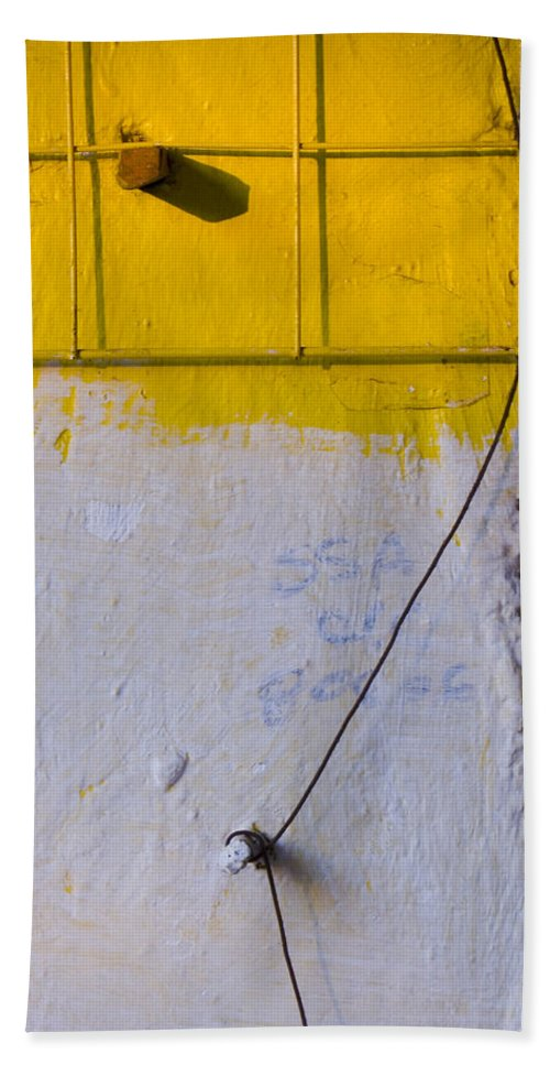Abstract Bath Sheet featuring the photograph Amarillo by Skip Hunt