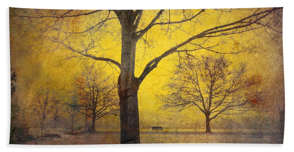 Trees Hand Towel featuring the photograph Amongst Friends by Tara Turner
