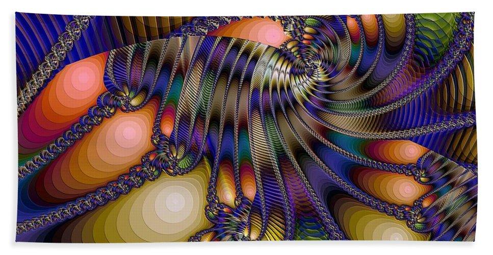 Shrimp Hand Towel featuring the digital art Amphipod by Ron Bissett