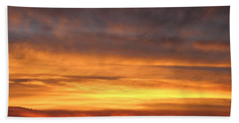 Sky Hand Towel featuring the photograph An Astounding Sky by Will Borden