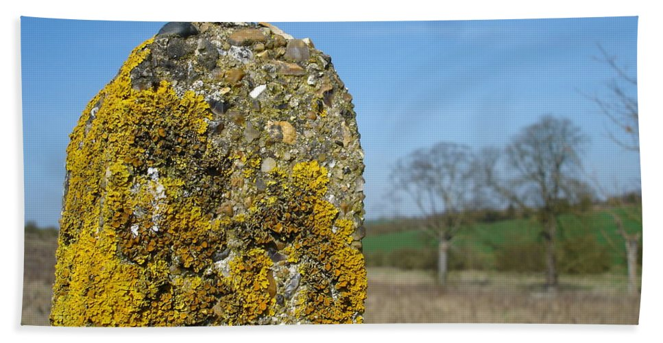 Landscape Hand Towel featuring the photograph Ancient Stone by Susan Baker