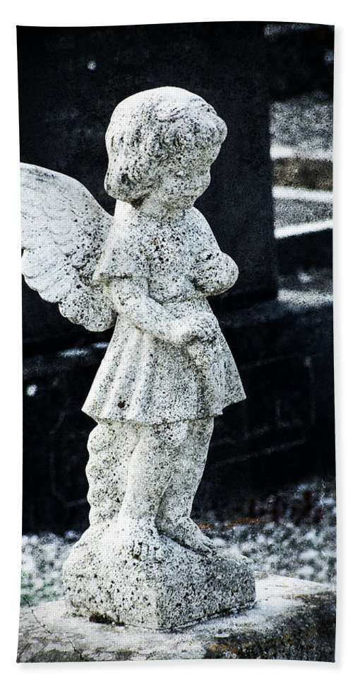 Ireland Bath Sheet featuring the photograph Angel In Roscommon No 3 by Teresa Mucha
