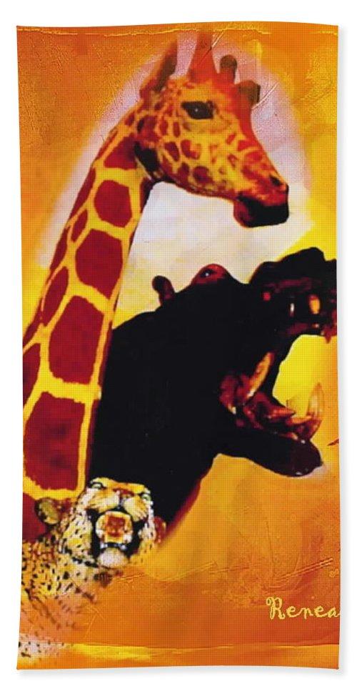 Animals Bath Sheet featuring the photograph Animal Farm by Sadie Reneau