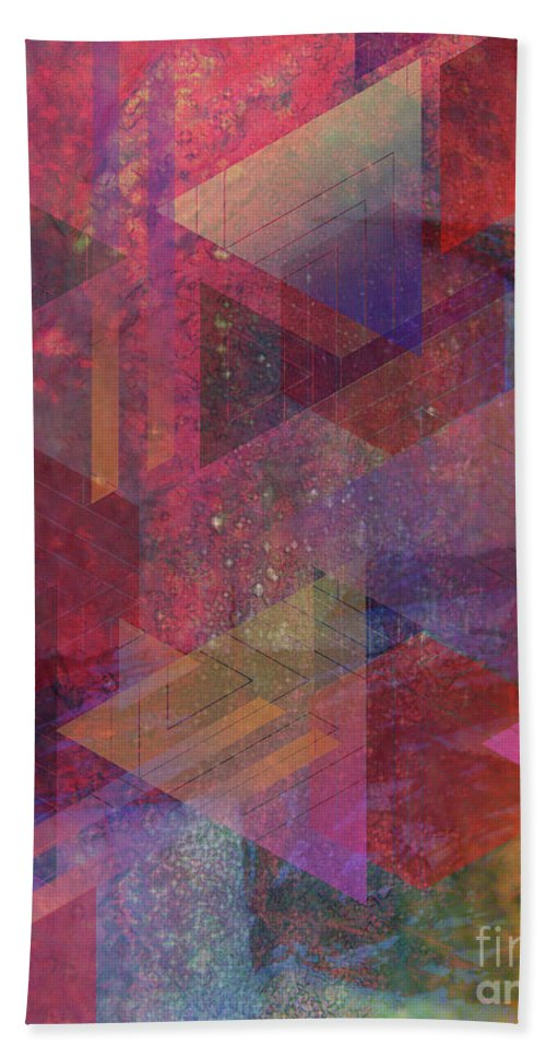 Another Place Hand Towel featuring the digital art Another Place by John Beck