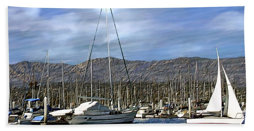 Ocean Hand Towel featuring the photograph Another Sunny Day by Kurt Van Wagner