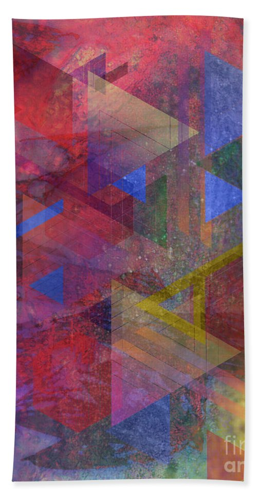 Another Time Bath Towel featuring the digital art Another Time by John Beck