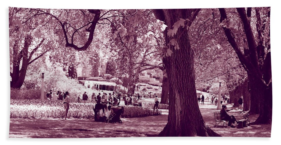 Festival Bath Sheet featuring the photograph Antique Fantasy by Deborah Jackson