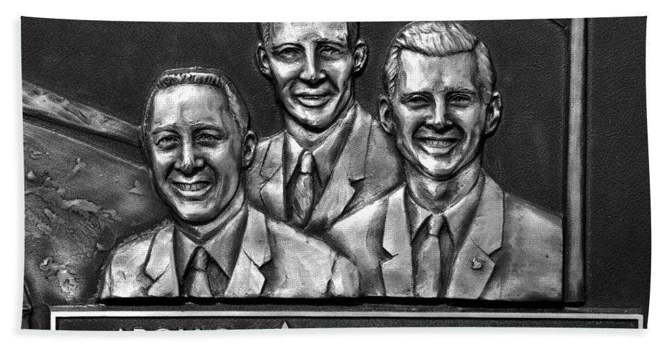 Fine Art Photography Bath Sheet featuring the photograph Apollo One Crew by David Lee Thompson