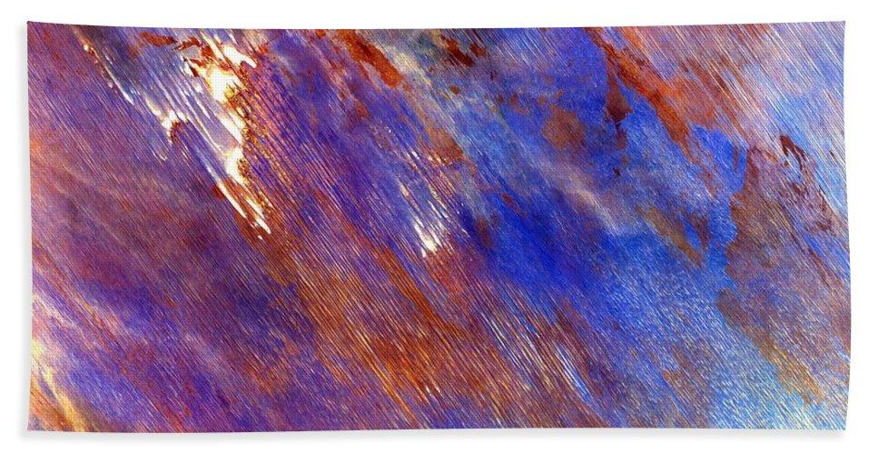 Australian Desert Bath Sheet featuring the photograph Australian Desert From Space by Leonardo Sandon