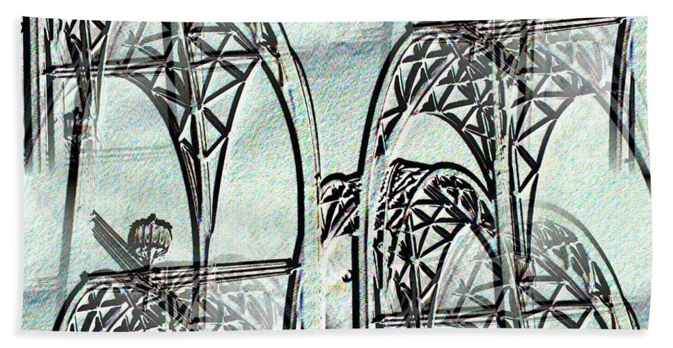 Seattle Bath Towel featuring the photograph Arches 4 by Tim Allen