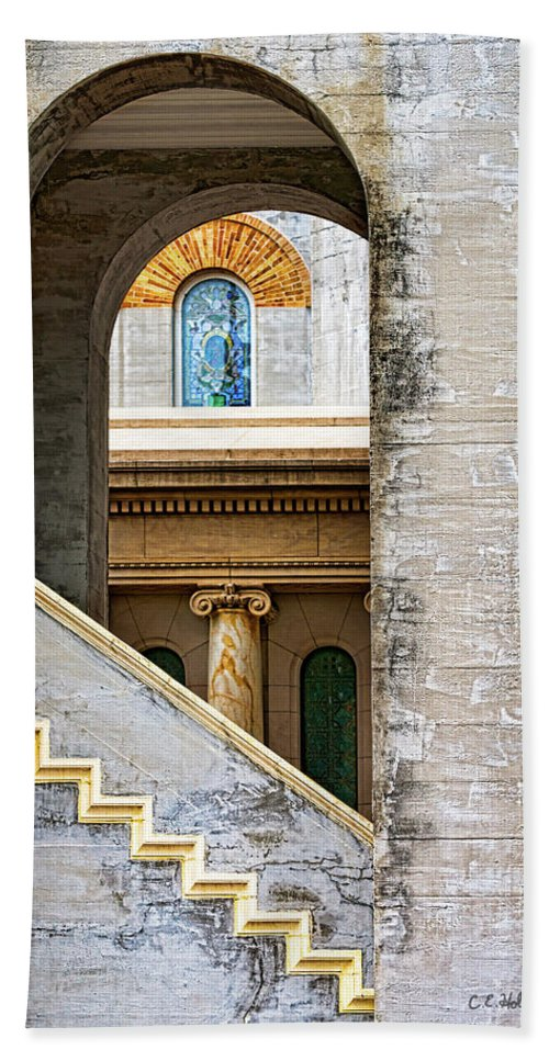 Arch Bath Sheet featuring the photograph Arches Within Arches by Christopher Holmes