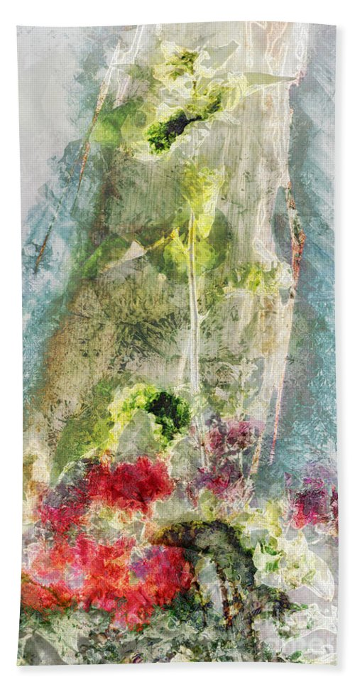 Rising Hand Towel featuring the digital art Arise by Davy Cheng