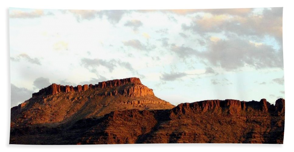 Arizona Bath Sheet featuring the photograph Arizona 1 by Will Borden