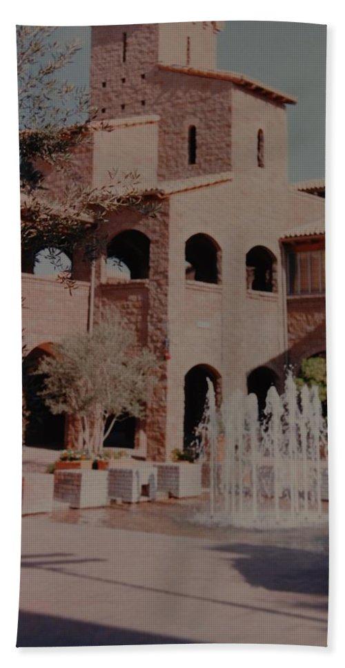 Arizona Bath Sheet featuring the photograph Arizona Water by Rob Hans