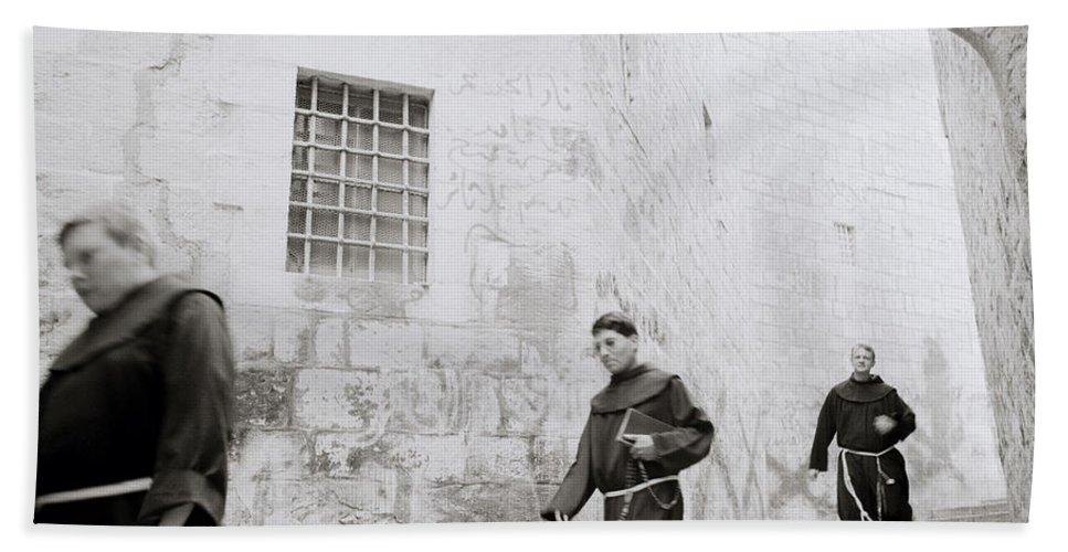 Jerusalem Hand Towel featuring the photograph Armenian Quarter Jerusalem by Shaun Higson