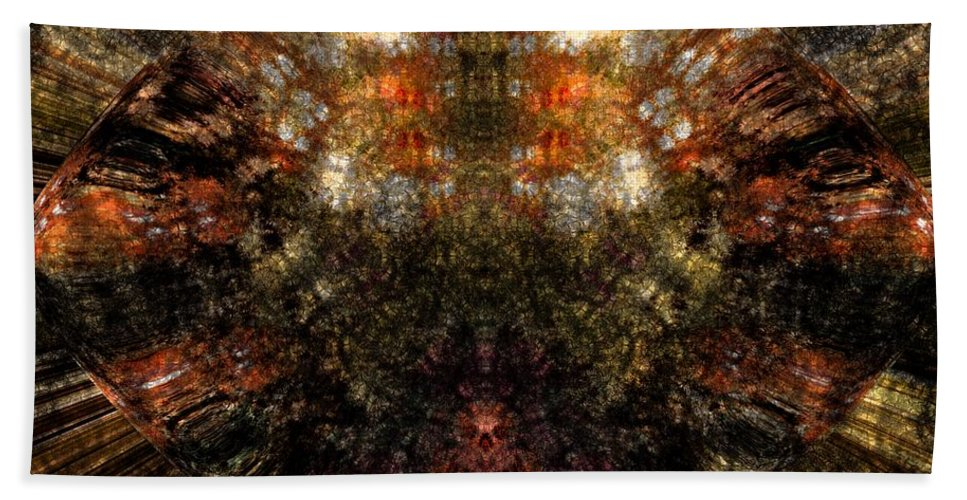 Fantasy Hand Towel featuring the digital art Artifact by David Lane
