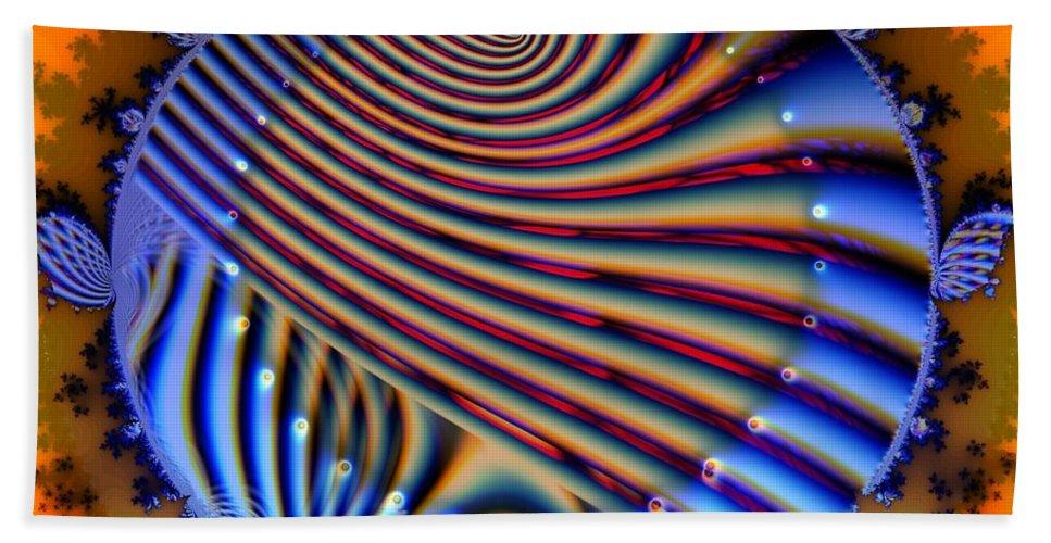 Heart Bath Sheet featuring the digital art Artificial Heart by Ron Bissett