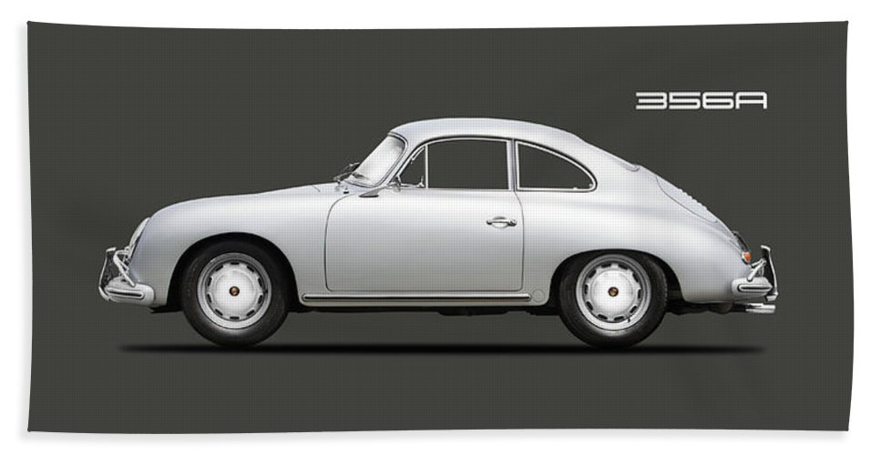 Porsche 356 Hand Towel featuring the photograph 356a Coupe by Mark Rogan