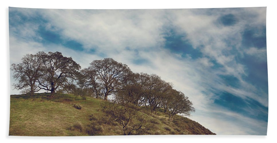 Sunol Ohlone Regional Wilderness Bath Sheet featuring the photograph As High As Souls Can Fly by Laurie Search