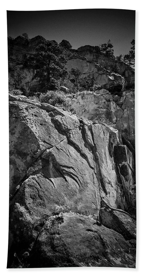 Wilderness Hand Towel featuring the photograph Ascent Of The Spirit by Will Jacoby Artwork