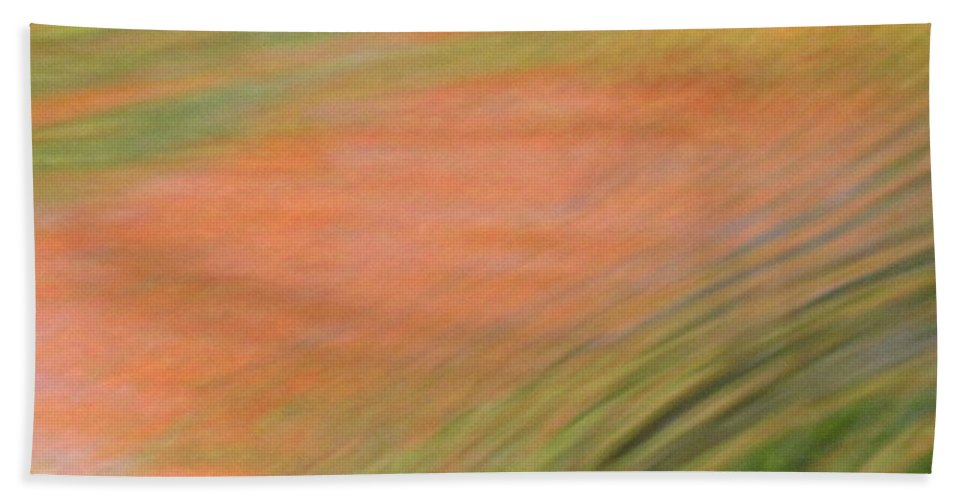 Abstract Art Hand Towel featuring the photograph At The Subtle Feeling Level by Sybil Staples