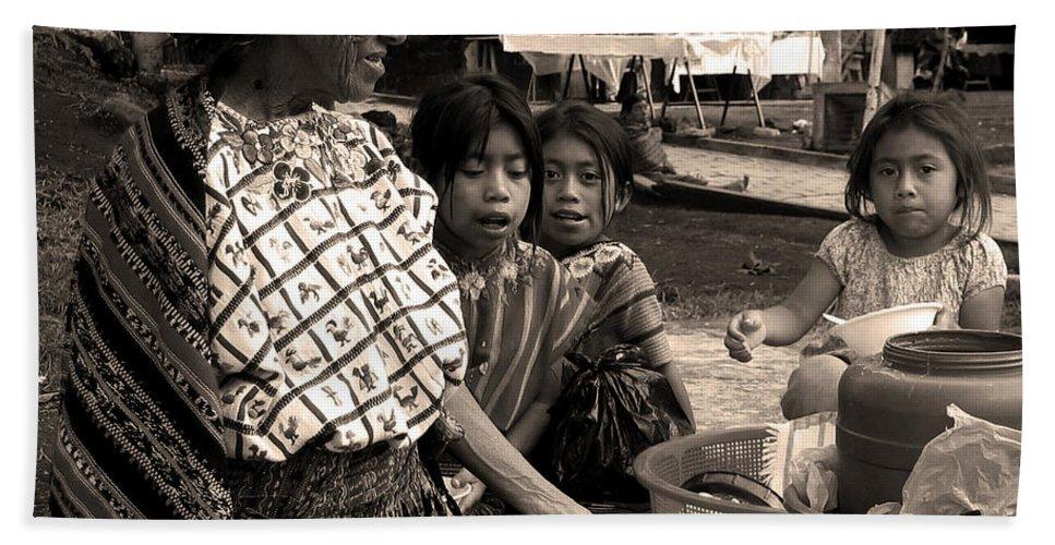 Atitlan Bath Sheet featuring the photograph Atitlan by RicardMN Photography