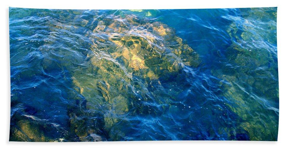 Jamielynn Bath Sheet featuring the photograph Atlantis by Jamie Lynn