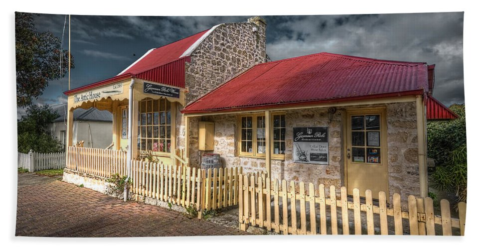Attic Hand Towel featuring the photograph Attic House by Wayne Sherriff