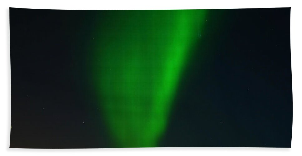 Aurora Borealis Hand Towel featuring the photograph Aurora Borealis by Anthony Jones