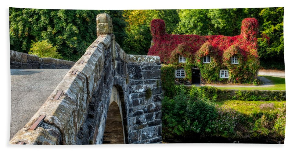 Autumn Hand Towel featuring the photograph Autumn Colours by Adrian Evans