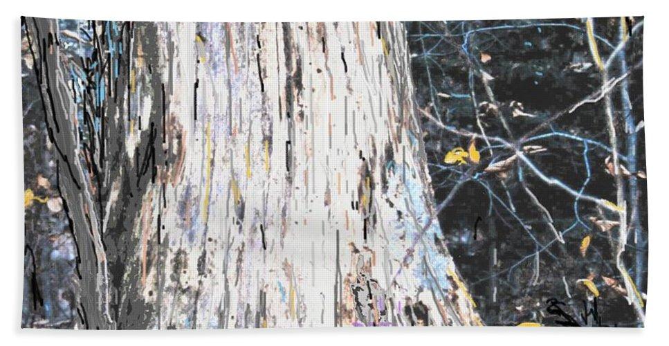Fall Hand Towel featuring the photograph Autumn by Ian MacDonald