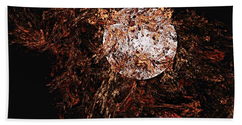 Digital Painting Hand Towel featuring the digital art Autumn Wind 1 by David Lane