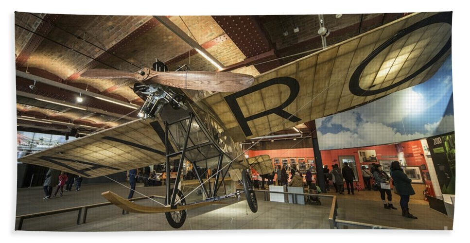 Avro Hand Towel featuring the photograph Avro Type F by Rob Hawkins