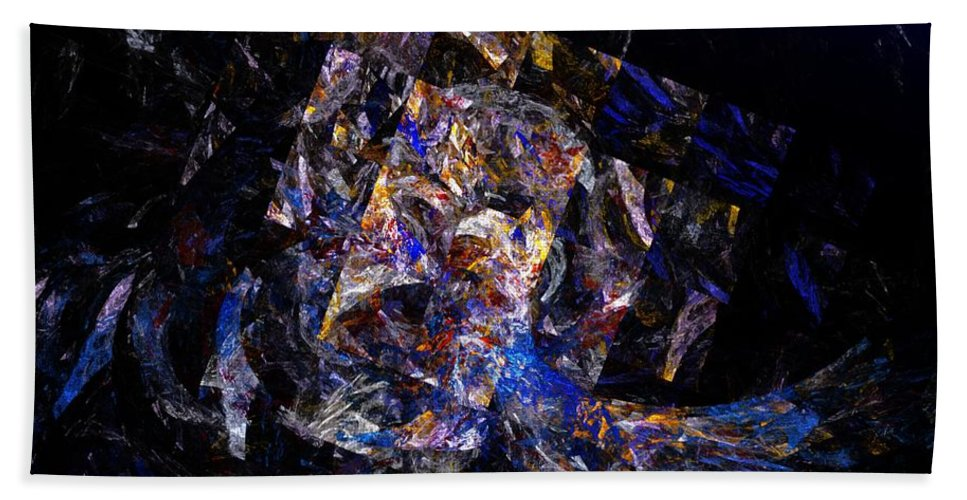Fine Art Hand Towel featuring the digital art Awakening From A Nightmare by David Lane