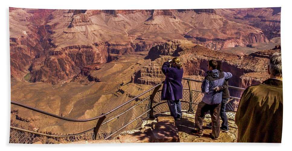 Grand Canyon Hand Towel featuring the photograph Awesome by Leroy McLaughlin