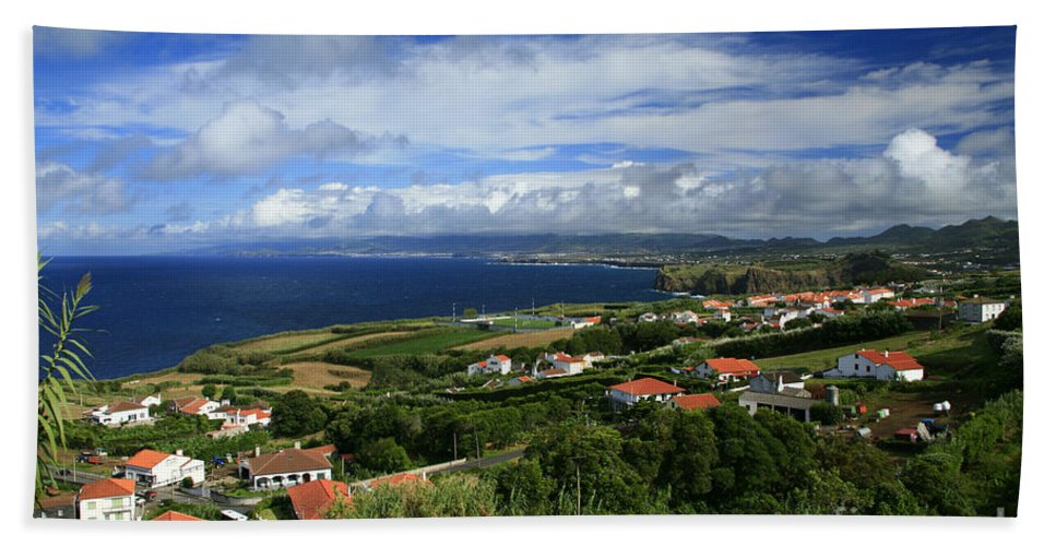 Archipelago Hand Towel featuring the photograph Azores Islands Landscape by Gaspar Avila