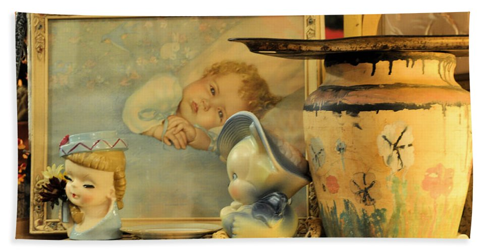 Antiques Bath Sheet featuring the photograph Baby Boy by Jan Amiss Photography