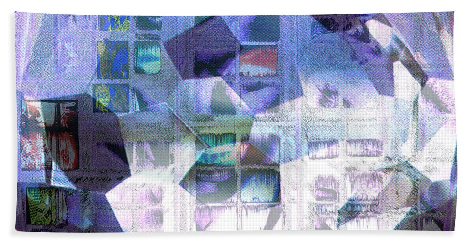 Windows Bath Sheet featuring the digital art Baby Its Cold Outside by Seth Weaver