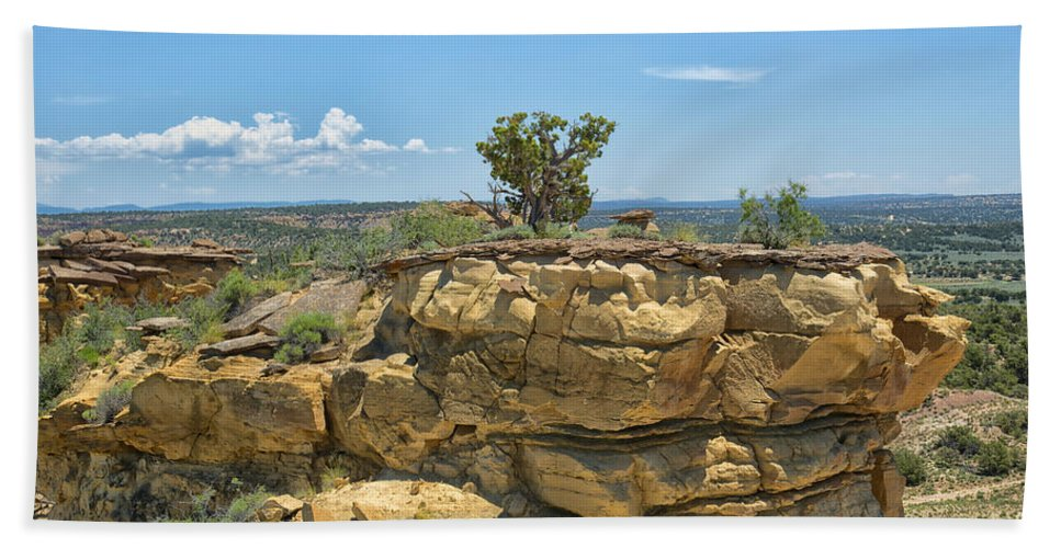 Badlands Bath Sheet featuring the photograph Badlands 9 by Ingrid Smith-Johnsen
