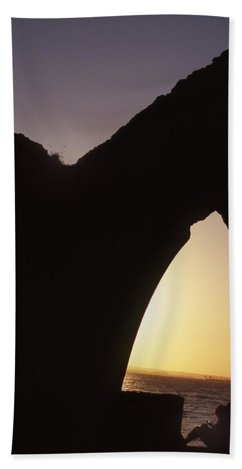 Bahia Hand Towel featuring the photograph Bahian Sunset by Patrick Klauss