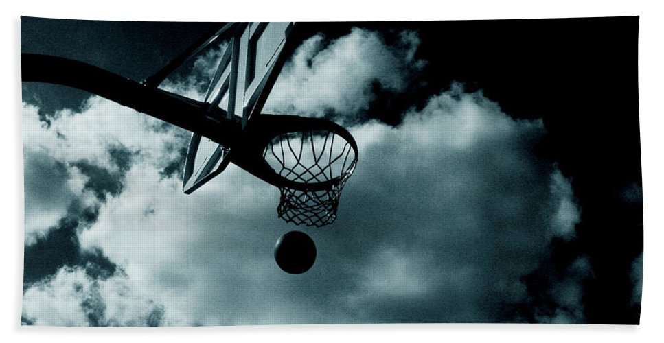 Basketball Hand Towel featuring the photograph Ballin by La Dolce Vita