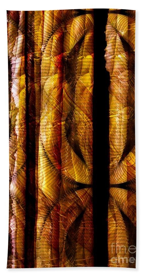 Bamboo Bath Towel featuring the digital art Bamboo by Ron Bissett