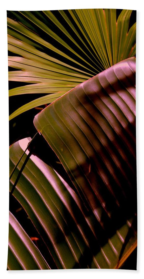 Banana Bath Sheet featuring the photograph Banana Leaf by Susanne Van Hulst